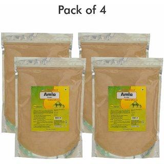 Herbal Hills Amla Powder - 1 Kg - Pack of 4