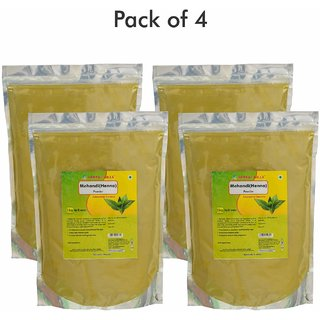Herbal Hills Mehandi powder - 1 kg powder - Pack of 4