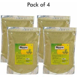 Herbal Hills Neem patra powder - 1 kg powder - Pack of 4