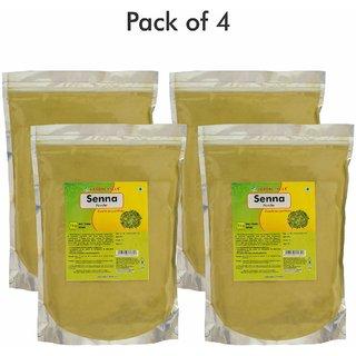 Herbal Hills Senna powder - 1 kg powder - Pack of 4