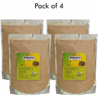 Herbal Hills Shikakai Powder - 1 kg powder - Pack of 4