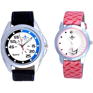 Sport Additional Style And Pink Peacock Feathers Girls Analogue Watch By SCK