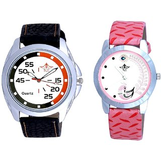 Sport Collection Dial And Pink Peacock Feathers Girls Analogue Watch By SCK