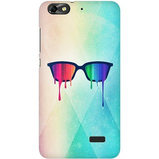 Mobicture Pride Glasses Premium Printed High Quality Polycarbonate Hard Back Case Cover For Huawei Honor 4C With Edge To Edge Printing
