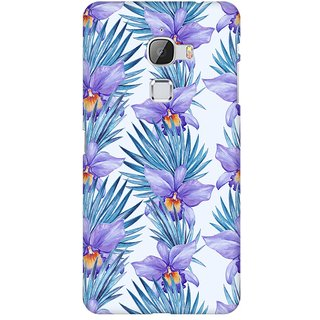 Mobicture Abstract Tropical Pattern Premium Printed High Quality Polycarbonate Hard Back Case Cover For LeEco Le Max With Edge To Edge Printing