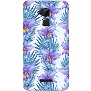 Mobicture Abstract Tropical Pattern Premium Printed High Quality Polycarbonate Hard Back Case Cover For Coolpad Note 3 With Edge To Edge Printing