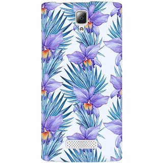 Mobicture Abstract Tropical Pattern Premium Printed High Quality Polycarbonate Hard Back Case Cover For Lenovo A2010 With Edge To Edge Printing