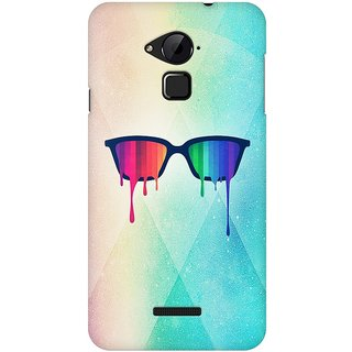 Mobicture Pride Glasses Premium Printed High Quality Polycarbonate Hard Back Case Cover For Coolpad Note 3 With Edge To Edge Printing