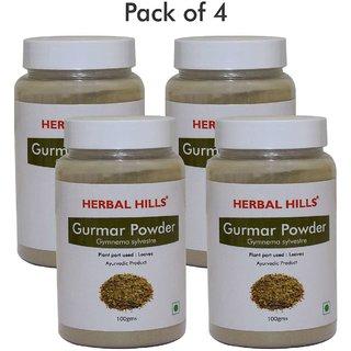 Herbal Hills Gurmar Powder - 100 gms (Pack of 4)