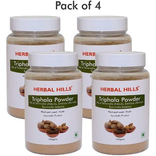 Herbal Hills Triphala Powder - 100 gms  (Pack of 4)