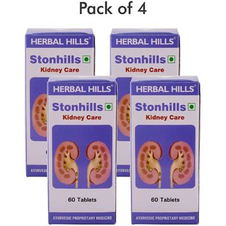 Herbal Hills Stonhills 60 Tablets - Pack of 4