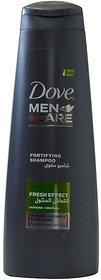 Imported Dove Men+Care Shampoo - Fresh Effect Shampoo - 400 ML (Made in UAE)