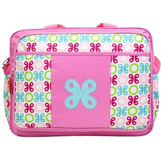 Wishkey Floral Print Multi-Purpose Mother Bag Nursery Bag