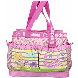 Wishkey Premiun Large Printed Nursery Bag