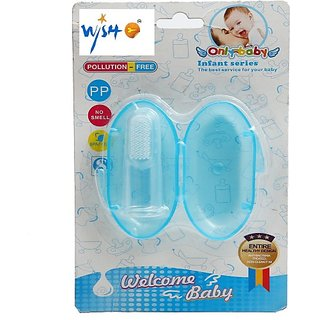 Wishkey Baby Finger Toothbrush With Protective Case