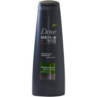 Imported Dove Men+Care Shampoo - Fresh Effect Shampoo - 400 ML (Made in UAE)