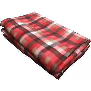 Z DECOR POLOR Blanket ATTRACTIVE CHECK Double bed SBAC-1013