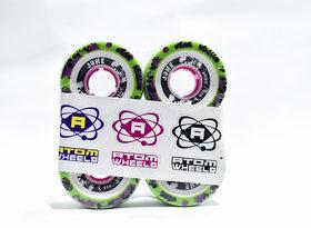 Atom Juke Roller Skating Rink Hard Wheel 62mm Hardness 93A