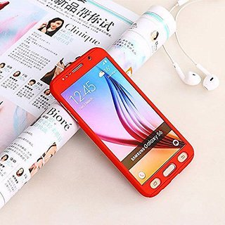 335f7e1caf0 Buy BS iPaky Full 360 Protection Front Back Cover With Tempered Glass for IPHONE  6   6S (RED) Online - Get 30% Off