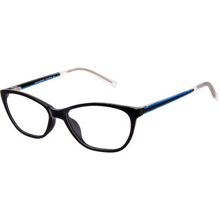 David Blake Black Cat-eye Women Spectacle Frame