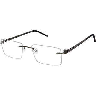 David Blake Green Rectangular Unisex Spectacle Frame