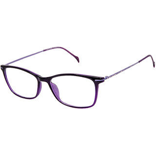 David Blake Purple Cat-eye Women Spectacle Frame