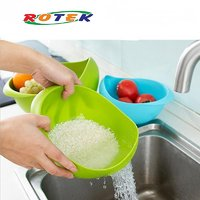 Rotek Colander Vegetable Fruit Basket Rice Wash Sieve Washing Bowl