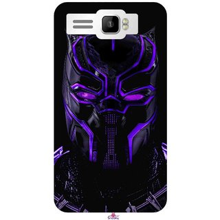 Buy Snooky Printed 961 Black Panther Wallpaper 4k Mobile Back Cover Of Intex Aqua R3 Plus Multi Online 399 From Shopclues