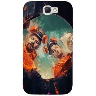 Snooky Printed 969,breaking bad season 4 Mobile Back Cover of Samsung Galaxy Note 2 - Multi