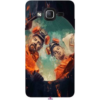 Snooky Printed 969,breaking bad season 4 Mobile Back Cover of Samsung Galaxy On7 - Multi