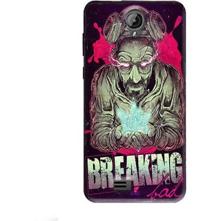 Snooky Printed 970,Breaking Bad Mobile Back Cover of Swipe Elite Koncept Plus - Multi