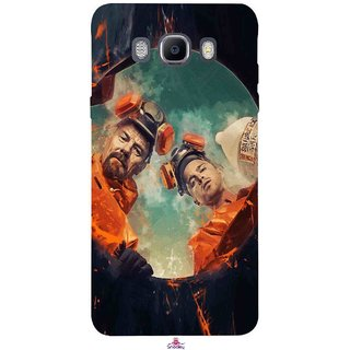 Snooky Printed 969,breaking bad season 4 Mobile Back Cover of Samsung Galaxy On8 - Multi