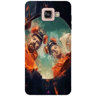 Snooky Printed 969,breaking bad season 4 Mobile Back Cover of Samsung Galaxy A7 2016 - Multi