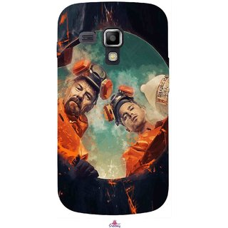 Snooky Printed 969,breaking bad season 4 Mobile Back Cover of Samsung Galaxy S Duos S7562 - Multi