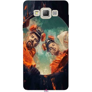 Snooky Printed 969,breaking bad season 4 Mobile Back Cover of Samsung Galaxy A7 - Multi