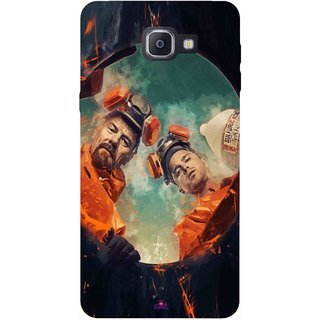 Snooky Printed 969,breaking bad season 4 Mobile Back Cover of Samsung Galaxy A9 Pro - Multi