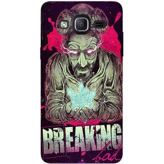 Snooky Printed 970,Breaking Bad Mobile Back Cover of Samsung Galaxy On5 - Multi