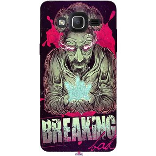 Snooky Printed 970,Breaking Bad Mobile Back Cover of Samsung Galaxy On7 - Multi