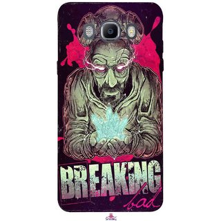 Snooky Printed 970,Breaking Bad Mobile Back Cover of Samsung Galaxy On8 - Multi