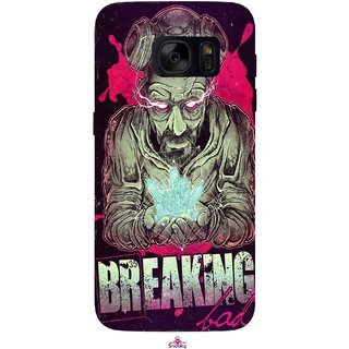 Snooky Printed 970,Breaking Bad Mobile Back Cover of Samsung Galaxy S7 - Multi