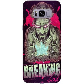 Snooky Printed 970,Breaking Bad Mobile Back Cover of Samsung Galaxy S8 Plus - Multi