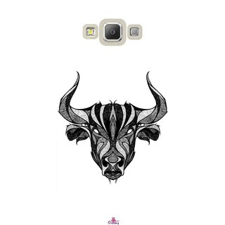 Snooky Printed 971,Bull Mobile Back Cover of Samsung Galaxy A7 - Multi