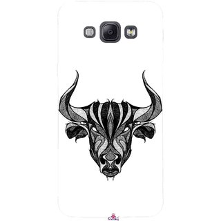 Snooky Printed 971,Bull Mobile Back Cover of Samsung Galaxy A8 - Multi