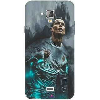 Snooky Printed 981,cristiano ronaldo Mobile Back Cover of Swipe Elite 2 Plus - Multi