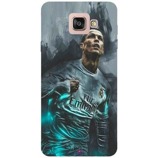 Snooky Printed 981,cristiano ronaldo Mobile Back Cover of Samsung Galaxy A7 2016 - Multi