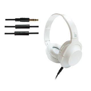 ha wired abs HWKC500 headphone White
