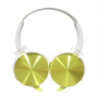 ha wired abs HWKC510 headphone Yellow