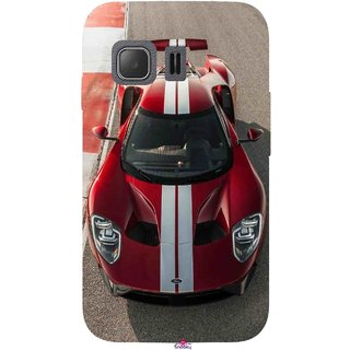 Snooky Printed 996,Ford GT Racing Car Mobile Back Cover of Samsung Galaxy Young 2