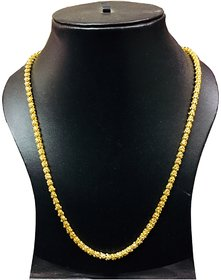 Xoonic's Latest Design Gold plated chain necklace 24 inch long Unique design for Men/Women-XC-112