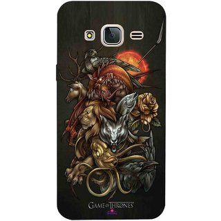 Snooky Printed 1002 Game Of Thrones Wallpaper Mobile Back Cover Of Samsung Galaxy J3 Pro Multi